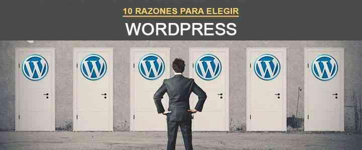 Razones para elegir Wordpress