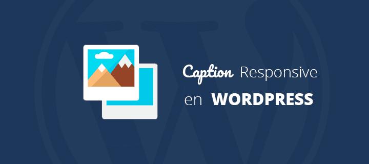 Solucionar Problemas con el Caption en Imágenes Responsive Wordpress ...